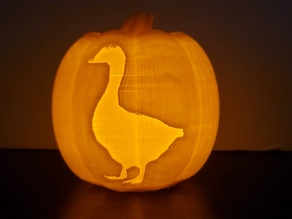 Untitled Goose Pumpkin