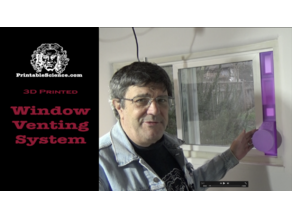 3D Printed Window Venting System