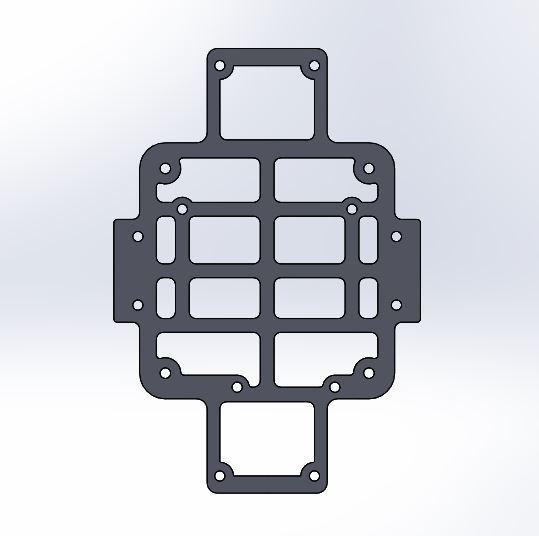 HSKRC XL_ Arduino UNO mounting platform