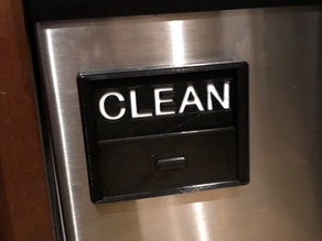 Overly Complex Dishwasher Sign