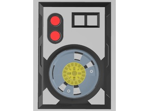 Multi-Material Star Wars Droid Access Panel