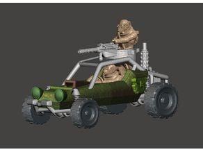 20mm - DarkFuture / Gaslands Off Road Buggy Parts - 1/64