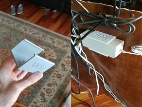 Wii PSU/Power Brick Mount