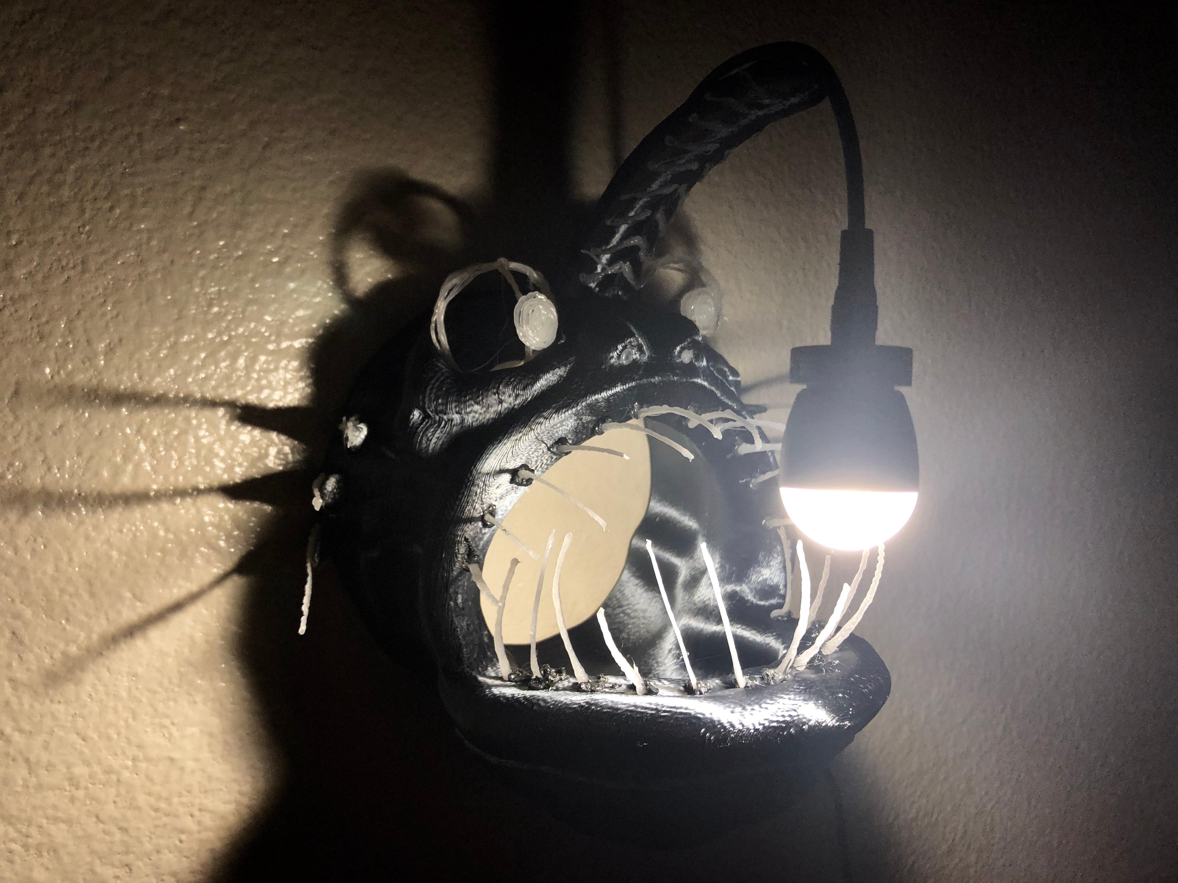 Angler Fish Lamp