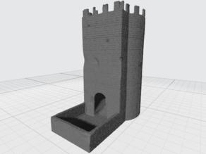 Dice Tower - High Res + Battle Damaged