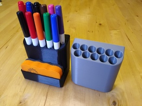 Small Dry Erase Marker Holder