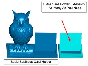 Extra Business Card Holder Extension