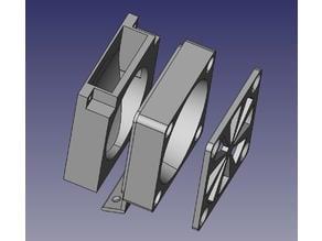 Creality CR-6 part cooler fan external support