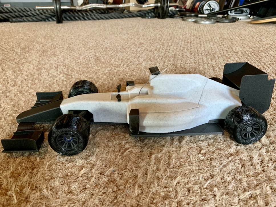 OpenRC F1 car - 1:10 RC Car by barspin - Thingiverse