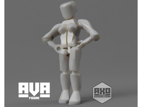 AVA - Awesome Action Figure Girl