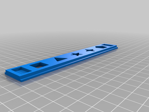 Play-Doh extrusion plates