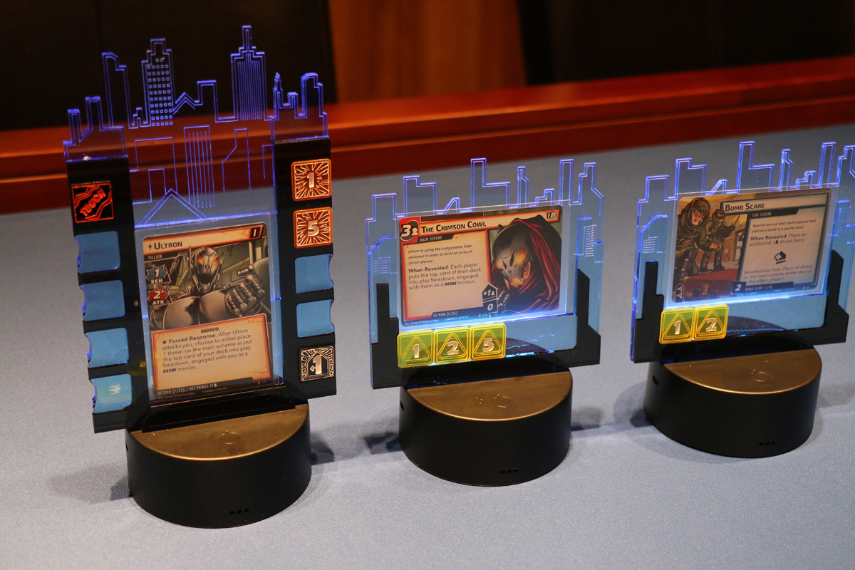 Marvel Champions LCG Villian and Player Boards and Tokens