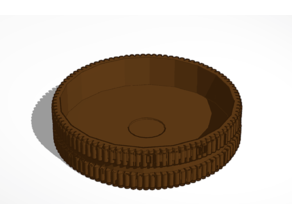 Expanded Oreo Shell (10mm Magnet)