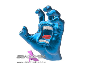 Screaming Hand sculpture
