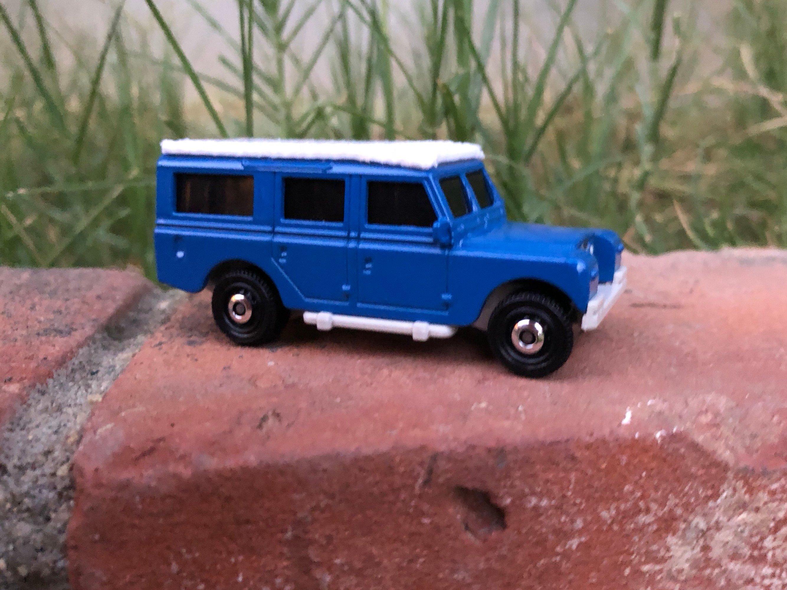 Matchbox Land Rover Series 2 Safari Top