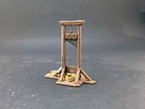 Guillotine for 28mm miniatures gaming
