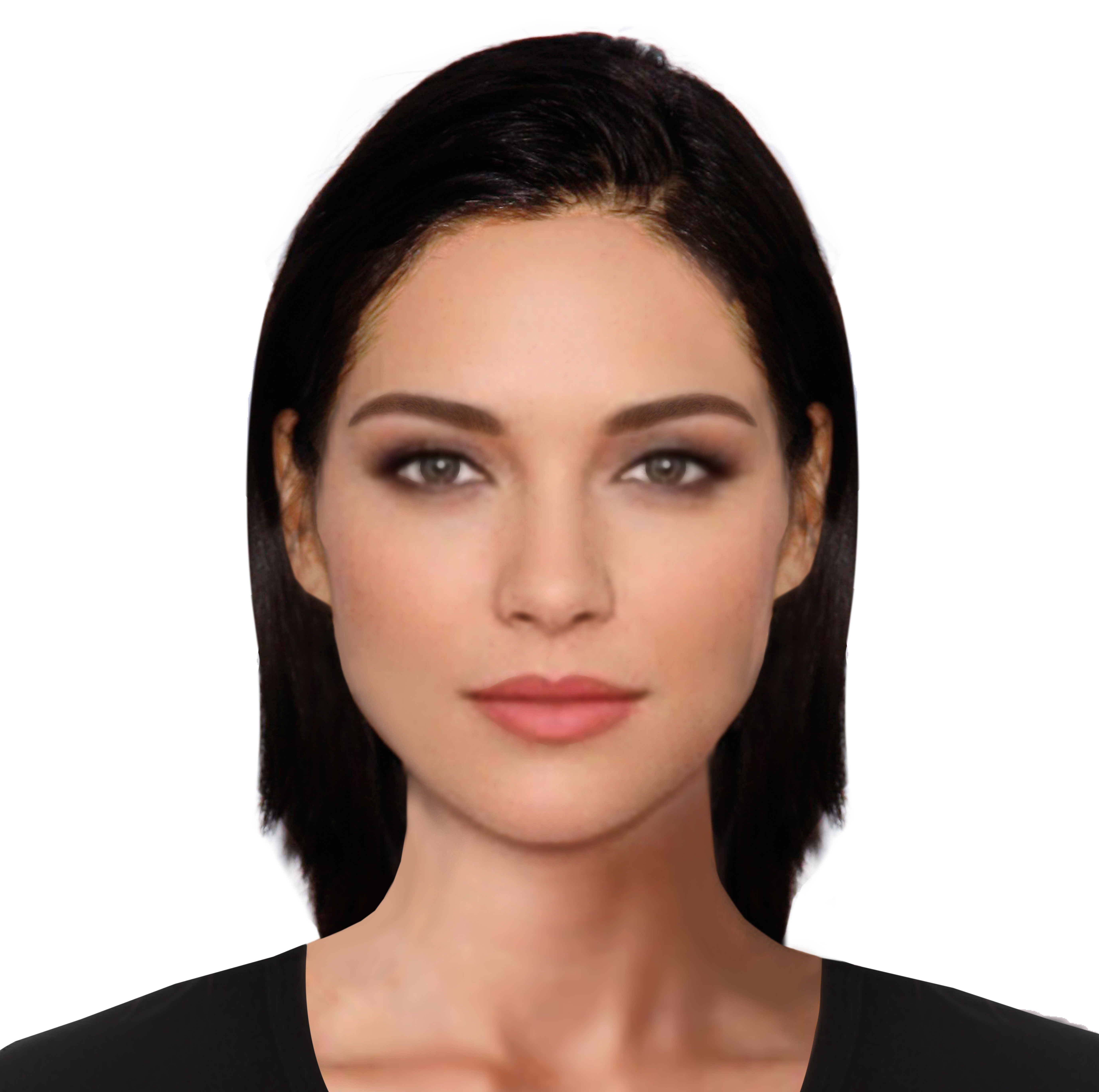 Face Template: Woman