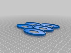60x35mm Oval Movement Tray