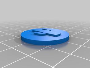Randomisation tokens for playing 3D catan