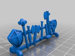 HeroQuest - Weapons Rack