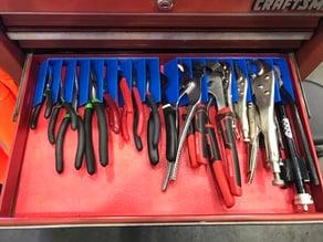 45° Pliers organizer