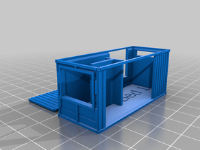 Customizable shipping container