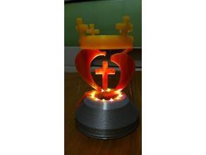 Floating Cross Crown漂浮十字架王冠