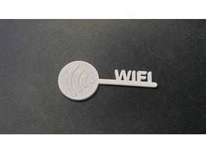 WIFI / WLAN Key for NFC Tag 22mm