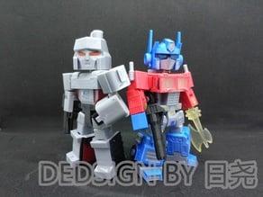 Optimus Prime Q-style Transformers