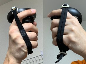 Oculus Quest Controller Lanyard Ring for shock cord or clothing elastic