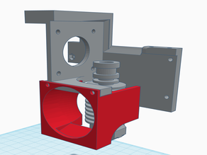 Anycubic Chiron Direct Drive Hotend Fan Duct