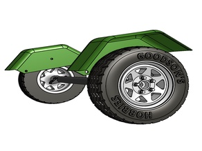SCALER TRAILER SCALE WHEEL & TIRE CONVERSION