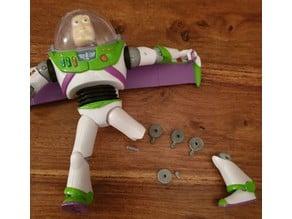 Buzz Lightyear knee repair