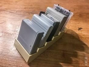 Commodore C64 cartridge stand