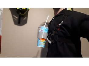 Go Pro Chest Mount Cupholder