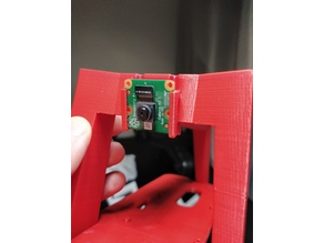 Raspbery Pi Camera Module Version 2 adapter for Donkey Car Chassis