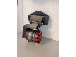friction drive bicycle motor mount (ebike conversion)