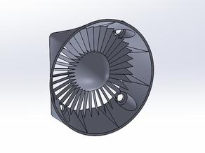 40mm Fan Inlet - Simple Turbine