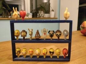 Emoji rack