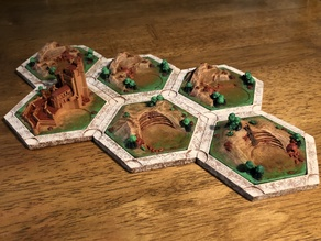 Catan Brick Variants For Dakanzla 2.0 Magnetic Base Set