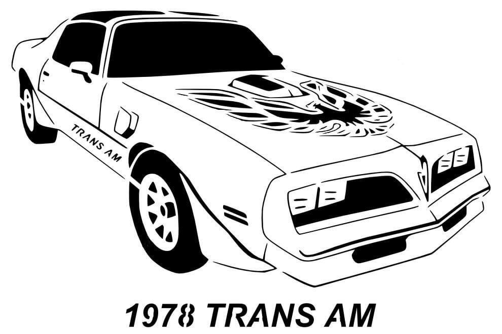 1978 Trans Am stencil