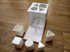Baby Shape Container Toys