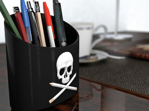 Skull Office Organizer V2