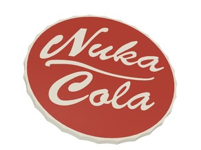 Fallout Nuka Cola_Ver 2 (For Multi-material)