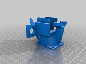 flsun i3 auto-leveling probe holder + 2-in-1 fan duct
