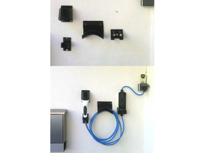 Hyundai IONIQ ICCB cable holder
