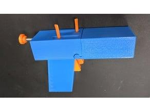 Functional Mitch Leary replica gun prop