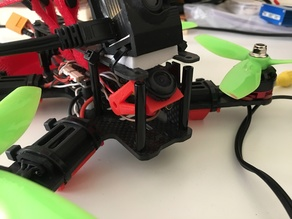 Adjustable FPV Camera Mount V2 very agressive angle