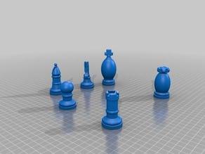 Chess Set Modern
