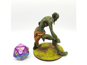 Rot Troll/Undead Troll for 28mm Tabletop Gaming
